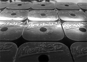 Medium 3D Printed Polymer Parts